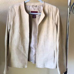 Merona genuine suede jacket